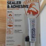 雨漏りテントの修理。GEAR AID シームグリップ 1オンス アウトドア ギア用万能補修剤