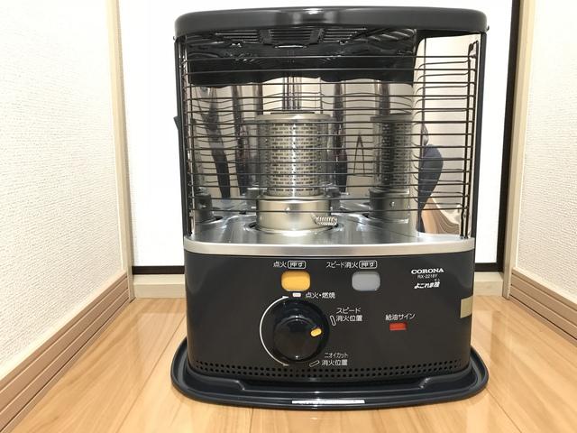 コロナ(CORONA)電池で動く灯油ストーブRX-2218Yを購入!