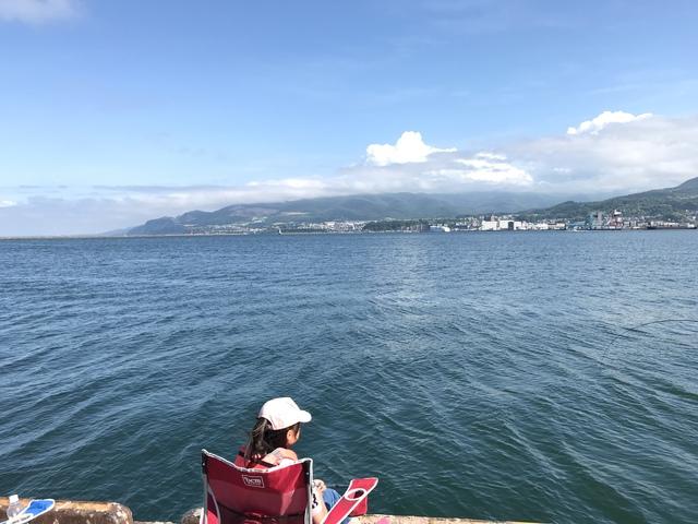 6月の小樽。晴れて気持ちのいい日だった。