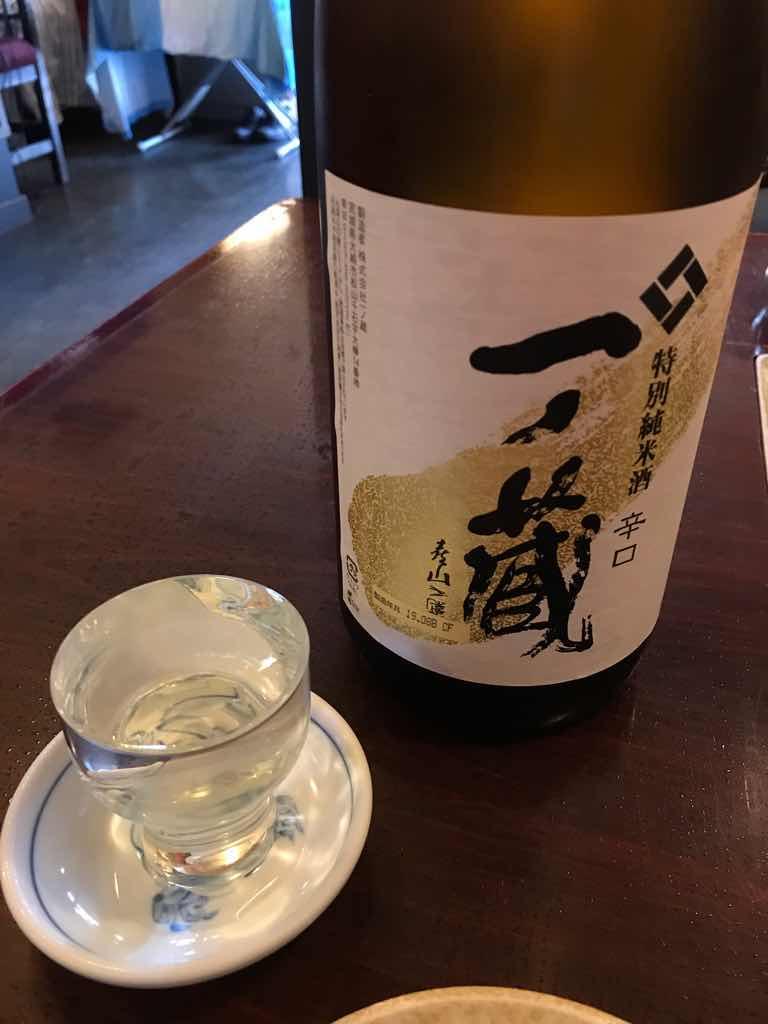 串さんの振る舞い酒、一の蔵