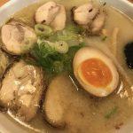 旭川ラーメン村のいってつ庵で地鶏チャーシュー麺(塩)を食べた