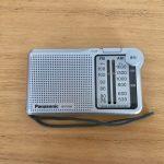 Panasonic FM-AM 2バンドレシーバー RF-P150A-S 所謂携帯ラジオ|家で役立つキャンプ道具